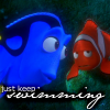 rwryter: (Dory - just keep swimming)