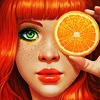 naked_lunch: (Design > Orange Girl)