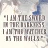 sheikah: (asoiaf: watcher on the walls)