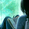 feather_ghyll: Girl reading a book that is resting on her knees (Girl reader)
