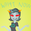 byzantienne: (tiny and pointy and awesome, terezi suggests we play a game, what NOW?!)