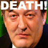 kay: Stephen Fry, from an episode of QI ([brit] - qi death)