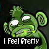 kryptonitemonkey: (I feel pretty)