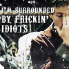 wenhaver: Mal surrounded by idiots (mal, firefly)