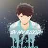 kayable: (feel you in my blood)