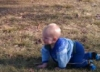 familyvalues: Owen at the park, December 20, 2011 - I made this from my own photo. (Owenninemonths)