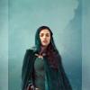 ladysophiekitty: (Morgana green dress)