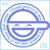 newtypelady: GITS: SAC's Laughing Man. Get it? GET IT? ...Yeah. (Lawl.)