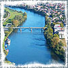 chomiji: View of the Danube River in Germany (Danube River)