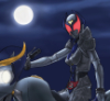summerorange: (Rider in her element)