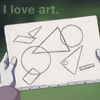 newtypelady: Tiffa's lovely prophetic drawing from Gundam X. (Don't we all?)