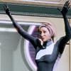 newtypelady: Dr. Chakwas from Mass Effect, gettin' kinda crunk on Serrice Ice Brandy. (WOOHOO BRANDY!)