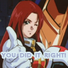 newtypelady: Christina Mackenzie from Gundam 0080 thinks you're swell. (See what you do~)
