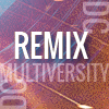 dcmultiversity: Colorful text on colorful background that reads: DC Multiversity Remix (Default)