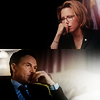 skieswideopen: Henry and Elizabeth from Madam Secretary, each looking thoughtful (Madam Secretary: Elizabeth & Henry)