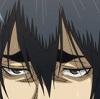 princesssid: anime screencap of hanamiya, zoomed into this eyes and great eyebrows (hanamiya)