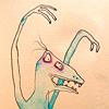 snikt: (blue monster)