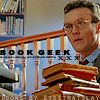 "apollymi: Giles carrying books, text reads ""book geek"" (BtVS**Giles: Book geek)"