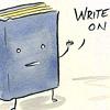 dustandsunlight: (write on)