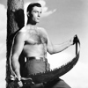 jekesta: clint walker as cheyenne, holding a saw (cheyenne)
