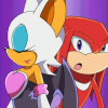 sexyspybat: someday I'm gonna be famous! (makes knux curious)