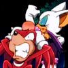 sexyspybat: HERE, have a clue!! (makes knux sore)