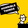 "the_sun_is_up: Yahtzee's speech bubble has been censored by a black bar that has the text ""horrible things"" written on it. (zero p - horrible things)"
