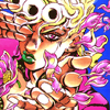 the_sun_is_up: Giorno in a cloud of flower petals, making a sexyface at the camera. (giogio - faaaaabulous)