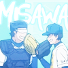 sawakise: look at how bara miyuki is like calm down goliath (yikes)