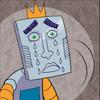 hakari: the saddest face!! (robot king)