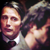 dorinda: Hannibal Lecter gazes at an unseeing Will Graham. (hannibal looks at will)