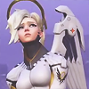 watching_over_you: Icon by me (Pouty angel)