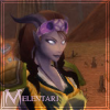 backtothelight: My female draenei hunter in World of Warcraft. (Melentari)