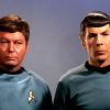 lifebecomesart: Spock and Bones from Star Trek (Star Trek - Spock Bones)