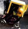 sillymouse: Severely overloaded pushchair (Motherhood)