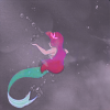 tinfoiltennis: Ariel from The Little Mermaid, facing away from the viewer (✎ someday I'll be part of your world)