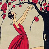 lampdevil: Art deco lady lifting her hands (Art Deco)