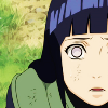 hijabi: photo of hinata with open mouth and eyes in shock. (hinata shocked)
