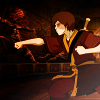 hijabi: photo of zuko in a battle stance. (zuko battle ready)