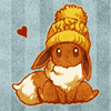 pokemod: (by koyuki @ DW. [eevee hat])
