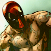 beaarthur: (Mask On   shirtless. melancholy.)