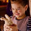 calltheavengers: (cassie: loves her evil creepy bunny)