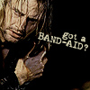 madwomanwithabox: ([Sawyer] Band Aid)