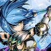 mikogalatea: Beruka from Fire Emblem 14, looking badass as she brandishes her axe. (Beruka)