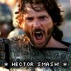 vampychick: (Hector smash!)