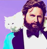 meowtstanding: (ZACH GALIFIANAKIS AND CAT looking suave)