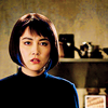 dreamkunoichi: Screenshot of Mako Mori, hair lit up, from the movie Pacific Rim (2013). (lit up, pacific rim)
