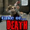 alltheircrimesarejust: (cake or death reepicheep)