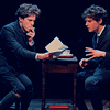 dulcinea: Melchior and Moritz discussing the sex essay in Spring Awakening. (Default)