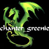 chanter_greenie: an image of a green dragon (amber and absinth)
